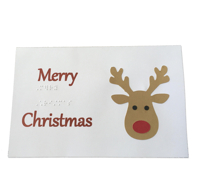 Christmas Card Rudolph