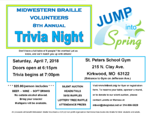 8th Annual Trivia Night
